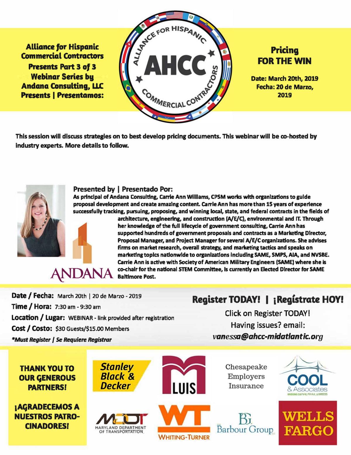 AHCC March 20 2019 Webinar