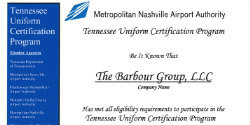 nashville-airport-authority-tennessee-uniform-certification-program-the-barbour-group